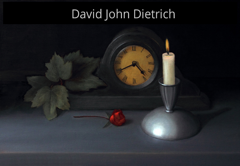Official website of artist of David John Dietrich